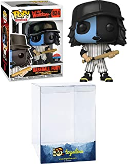 Baseball Fury (Toy Tokyo NY2019 Exc): Funk o Pop! Movies Vinyl Figure Bundle with 1 Compatible 'ToysDiva' Graphic Protecto...