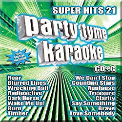 small Party Tyme Karaoke – Super Hit 21 [16-song CD+G]