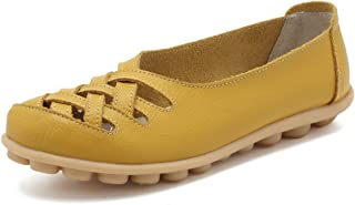 Best ladies leather slip on shoes Reviews