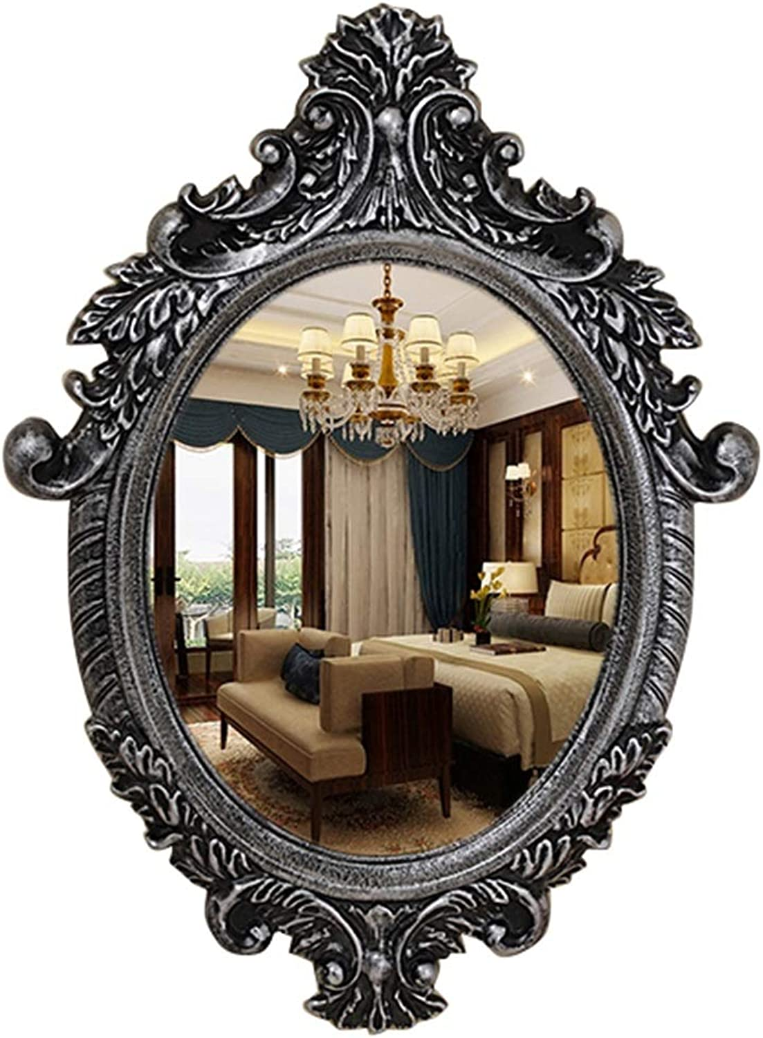 Northern Europe Dressing Wall Makeup Mirrors Decorative Apartment Living Room Bedroom Entryways Bathroom Shaving Iron Mirrors