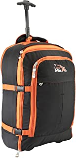 Cabin Max Malmo Expandable Laptop Backpack Trolley Hand Luggage Suitcase - 55x40x20cm 44 litres - Perfect Fit for Thomas C...