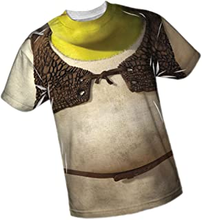 Costume - Shrek All-Over Front/Back Print Sports Fabric T-Shirt