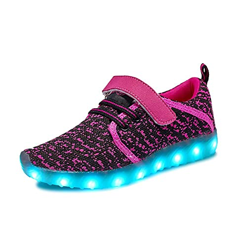 0dff0b30002a ByBetty LED Light Up Shoes Fashion Sneaker Shoes Children Boys Girls USB  Charging Shoes Low Top