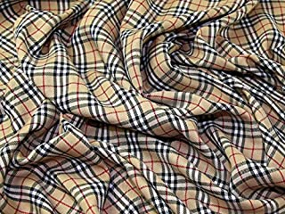 burberry plaid fabric by the yard