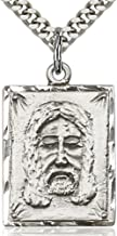 Heartland Men's Sterling Silver Holy Face Medal USA Made