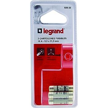 Legrand LEG92852 Porte-fusible /à broches Diam/ètre 8,8 mm pour cartouches 10 x 38