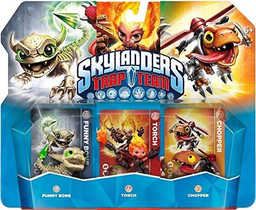 Skylanders Trap Team: Starter pack with Chopper, Funny Bone, Torch (Nintendo Wii)