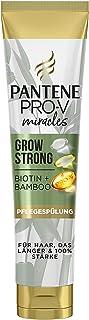 Pantene Pro-V Miracles Grow Strong conditioner con biotina e bambù, 160 ml, bellezza, perdita di capelli donna, cura dei c...