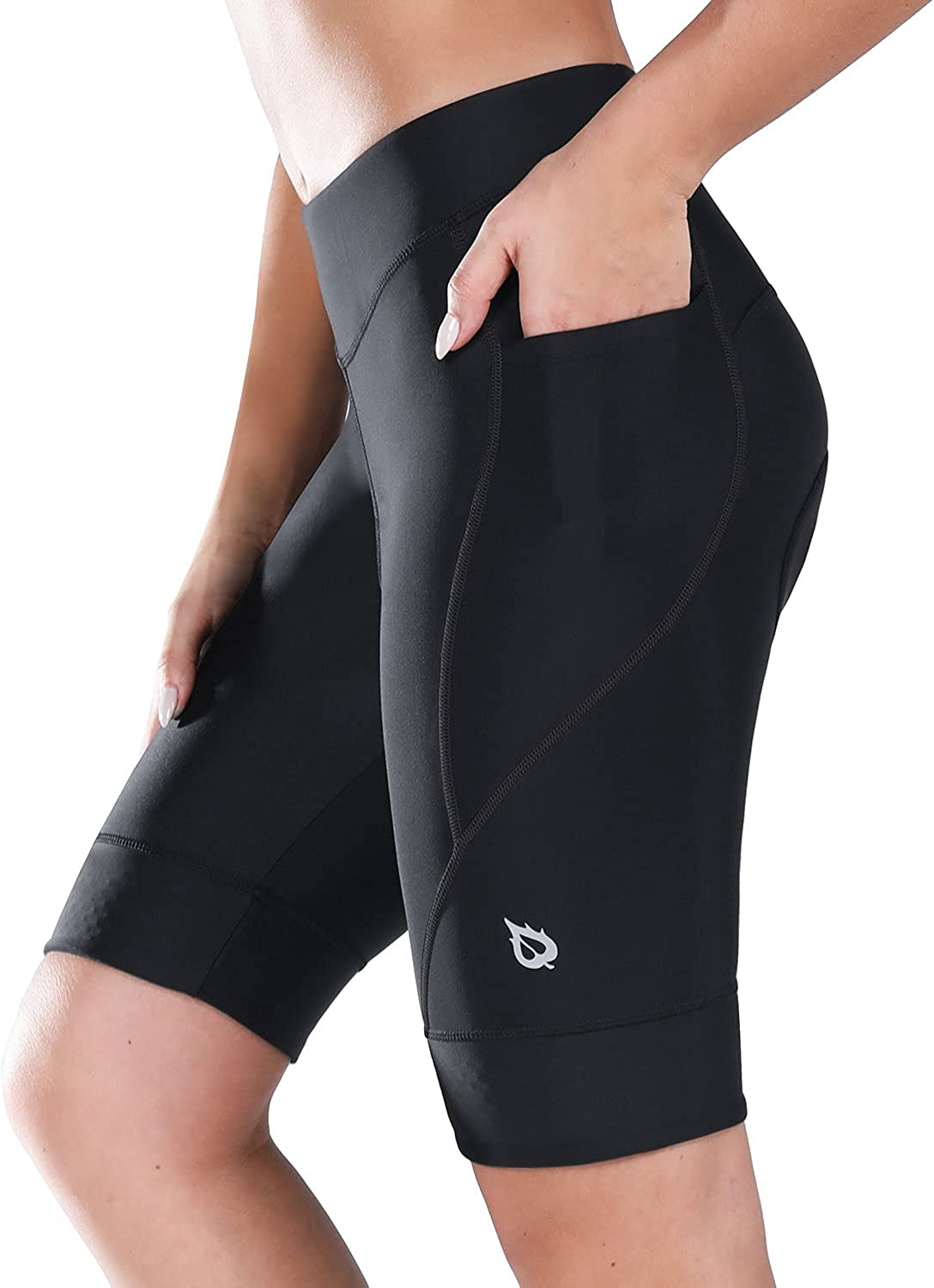 BALEAF Women's Bike Shorts Max 44% OFF Los Angeles Mall 4D Spinning Cycling Padded Road