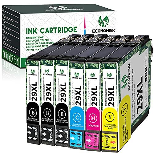 EconomInk 29XL Kompatible Tintenpatrone für Epson 29 XL für Epson Expression Home XP-235 XP-245 XP-247 XP-255 XP-335 XP-342 XP-345 XP-352 XP-355 XP-432 (6 Pack)