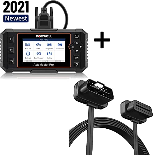 popular FOXWELL NT614 ABS/SRS/Transmission/Engine high quality Scanner and FOXWELL OBD2 wholesale Extension Cable 16pin sale