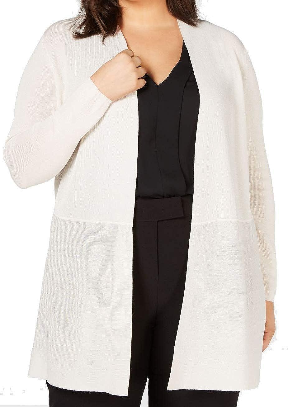 Anne Klein Women's Size Plus Long Cardigan