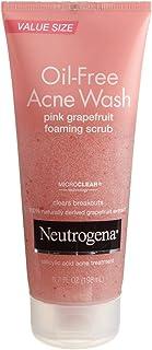 Neutrogena Oil-Free Acne Wash Scrub, Pink Grapefruit, 6.7 Fl Oz