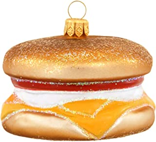 Bronners.com Breakfast Sandwich Ornament Xmas Food Egg Cheese Christmas Tree