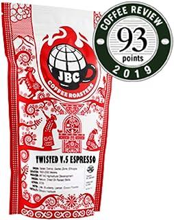 "JBC Coffee Roasters ""Twisted V.5 Espresso Blend"" Medium Roasted Whole Bean Coffee - 12 Ounce Bag"