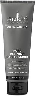 Sukin Oil Balancing Pore Refining Facial Scrub, 125ml
