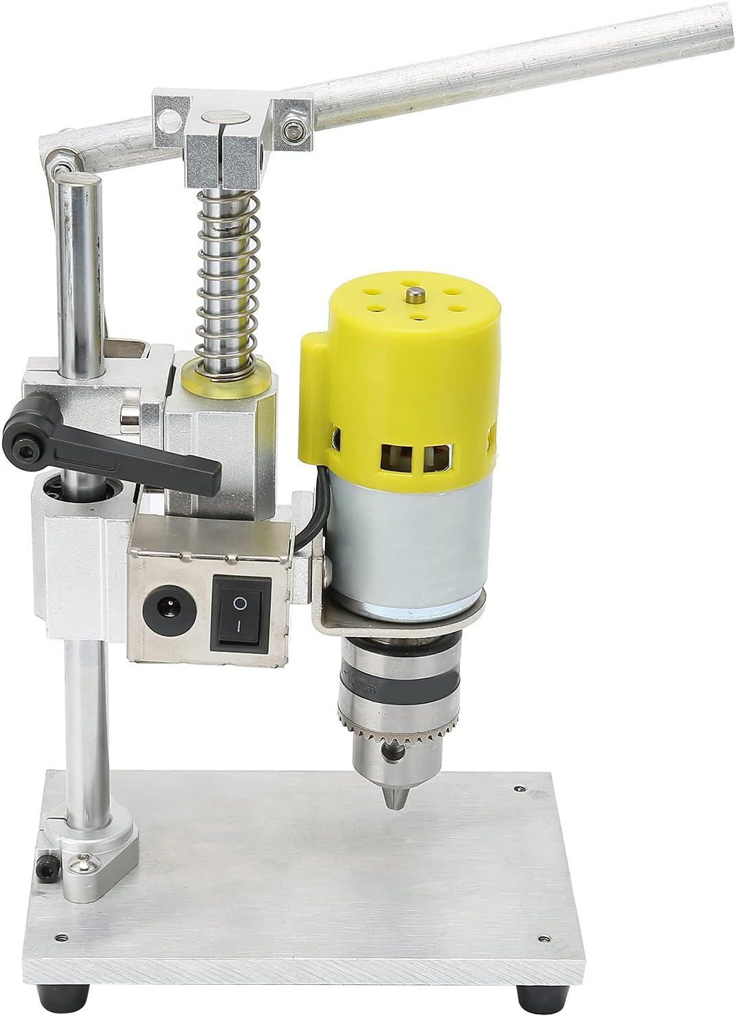 Eujgoov Benchtop Drill Press Brass Aluminu Core Motor B12 Chuck Free Shipping Max 71% OFF New