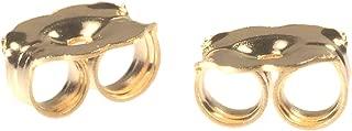 14K Gold Earring Backs Heavy 5mm 1 Pair