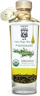Organic Extra Virgin First Cold Press Olive Oil infused with Rosemary 6.76 fl oz