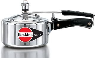 Hawkins CL-15 Classic Aluminum Pressure Cooker, 1.5 Litre, Silver