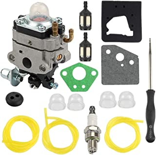 Carburetor for Honda 4 Cycle Engine GX31 GX22 FG100 16100-ZM5-803 GCA91 Carb with Carb Adjustment Tool Fuel Line Kit