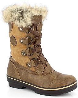Light Pink Kimberfeel Adriana Womens Snow Boot Size 37