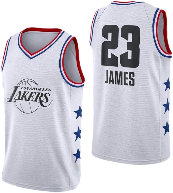 mejor marca Lebron James   23 Camiseta de Baloncesto de de de los Hombres - NBA Los Angeles Lakers, Mangas de los Hombres Jersey de Malla de Baloncesto Swingman Deporte Chaleco de la Tapa  exclusivo