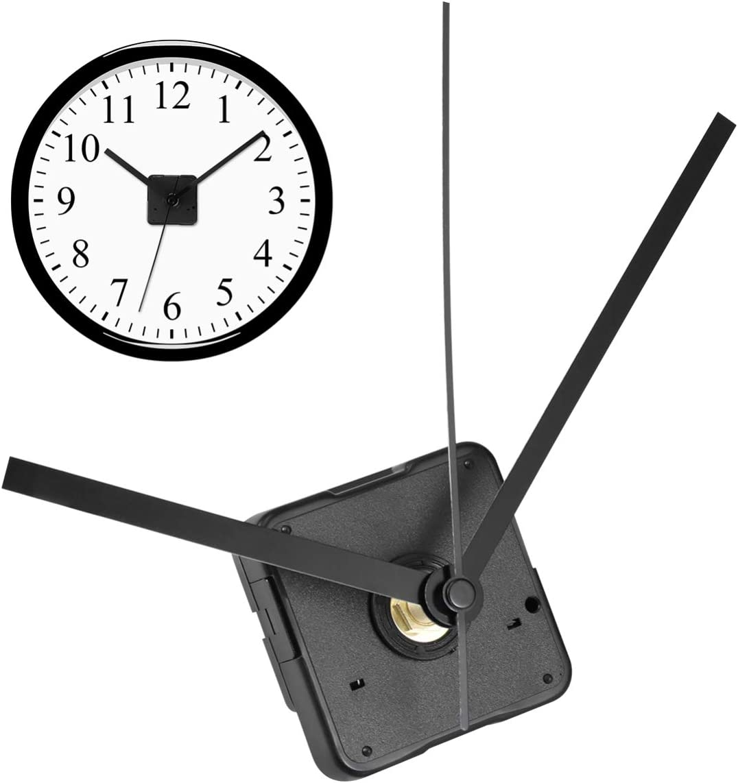 Healifty Wall Clock Movement Austin Mall Atlanta Mall Silent Hands Parts Frameless
