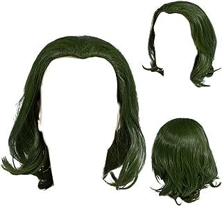 Joker Wig Cosplay Green Wigs Costume Make Up Accessories Kids Adult 2019 Movie
