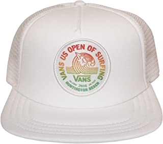 185eb589336 Vans 2016 US Open of Surfing Trucker Hat Cap - White