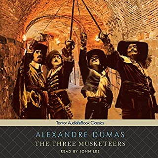 The Three Musketeers                   By:                                                                                                                                 Alexandre Dumas                               Narrated by:                                                                                                                                 John Lee                      Length: 23 hrs and 32 mins     3,160 ratings     Overall 4.4