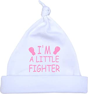 Preemie Baby Hat Little Fighter Boy Girl Clothes 1.5-7.5lb