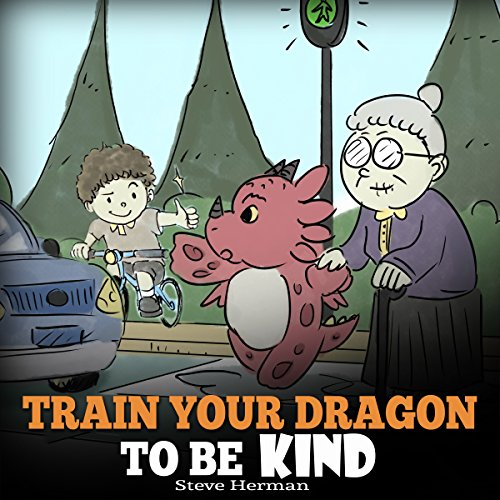 Train Your Dragon to Be Kind audiobook cover art