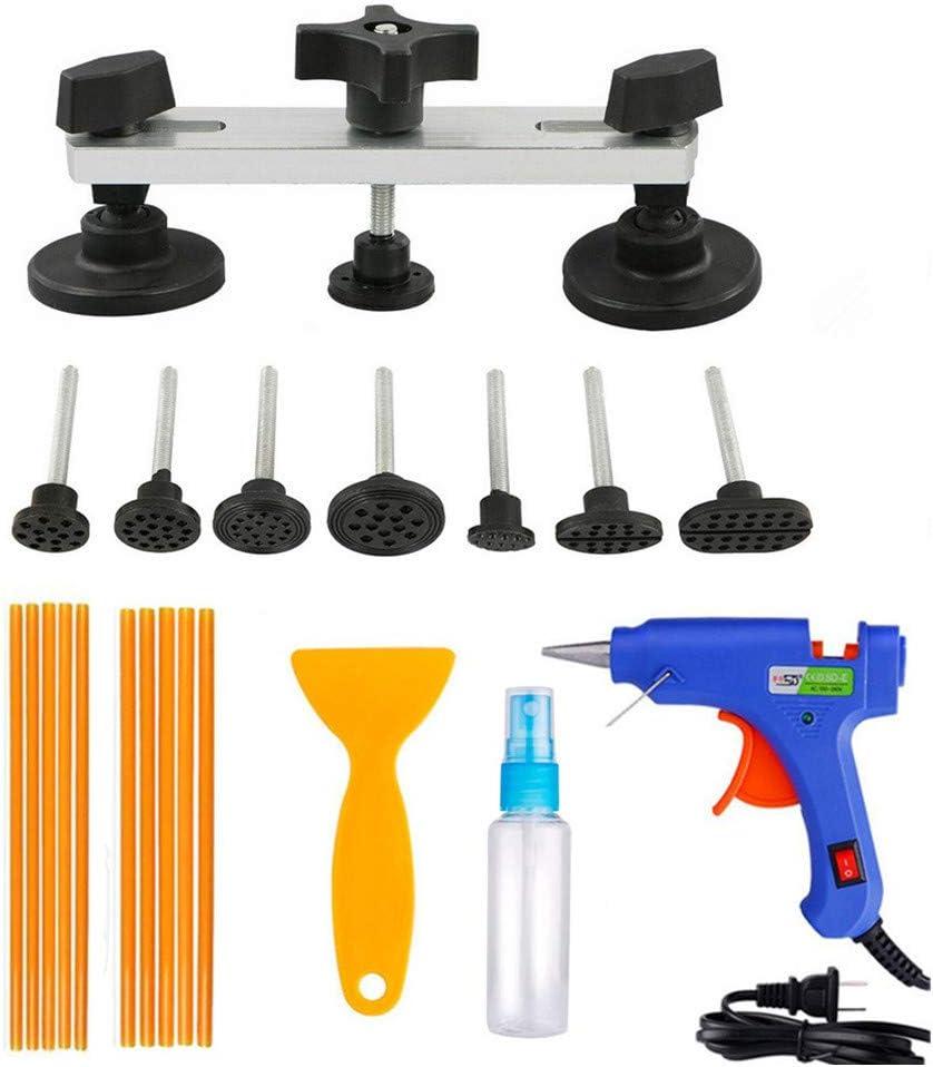 DAXGD Kit de Herramientas de reparación de abolladuras sin Pintura, Extractor de Puente, Herramienta Manual de reparación de carrocería