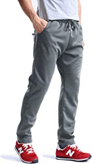 MAGCOMSEN Men's Joggers Wrinkle-Free Sweatpants Lightweight Drawstring Zipper Pockets Workout Running Pants