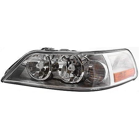 Pair Set Halogen Headlights Headlamp Lens Housing for 2003-2004 Lincoln Town Car