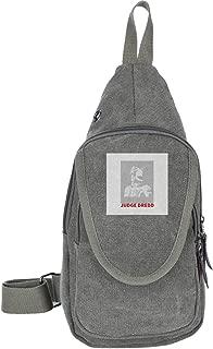 Judge Dredd Film Script Silhouette Traveling Chest Bags For Men&Women Multipurpose Casual Daypack Hiking Shoulder Bag
