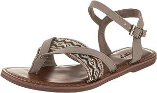 84b5c0bc71f Amazon.com  Beige - Flats   Sandals  Clothing
