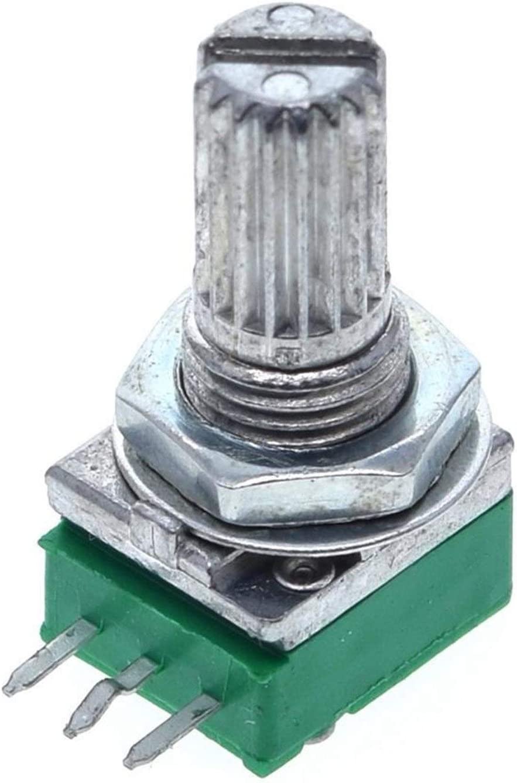 ZHENXKJ OFFicial store Potentiometer 1pcs B1K B2K B5K Directly managed store B50K B10K B100K B20K B500