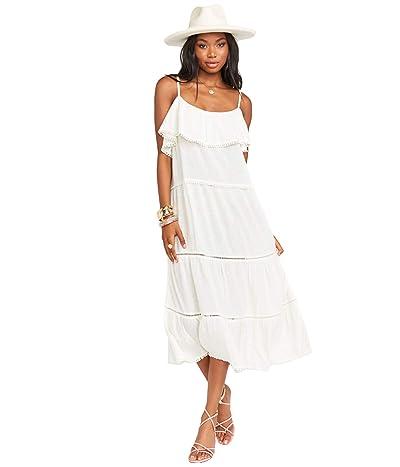 Show Me Your Mumu Ambrose Midi Dress (White) Women