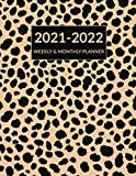 2021 2022 Weekly & Monthly Planner: Cheetah Leopard Print, Academic Planner Mid-Year July 2021 to June 2022, Calendar Organizer Agenda