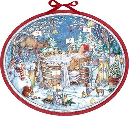Zettelkalender – Nur für mich!: 24 Wohlfühltipps für einen entspannten Advent: 24 Wohlfhltipps fr einen entspannten Advent