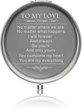 Personalized Girlfriend Gifts for Valentines Day Ideals Birthday Gift from boyfriend Engraved Anniversaries Gift to Girl from Family or Friend with Gift Box (You are my everything)