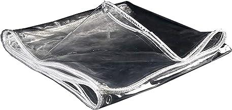 Schaduw en regendicht zwembad tafel cover Clear Tarpaulin, 440GSM Heavy Duty Tarp Waterdicht & scheurbestendig Beschermend...