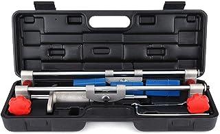 CLJ-LJ Dörrlås Håls Montering Jig lådor Kit, 3 Cutters dörrlås Håls Montering Jig lådor Kit med Skiftnyckel Renovering Tool