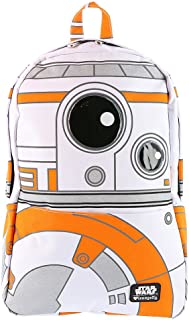 Loungefly Episode VII BB8 Backpack, White, 12 x 18