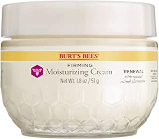 Burt's Bees Renewal Firming Moisturizing Cream with Bakuchiol Natural Retinol Alternative – 1.8 ounces (Packaging May Vary)