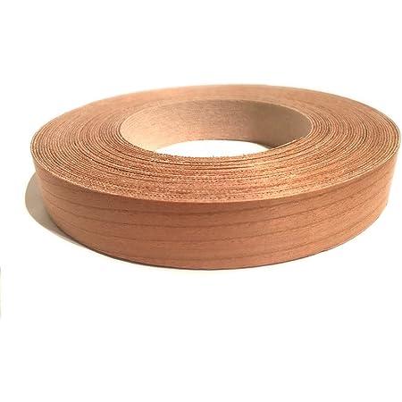 "Edge Supply Walnut 7//8/"" x 25/' Roll Preglued Wood Veneer Edge Banding Iron on w"