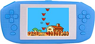 """Beico Handheld Games for Kids Adults 3.5"""" Large Screen Built in 416 Classic Retro Video Games Seniors Electronic Games Consoles Birthday Present (Blue)"""