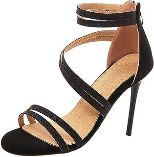 Melady Women Elegant Stiletto High Heels Sandals